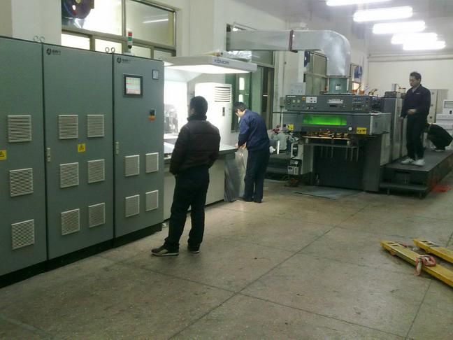 小森L26胶印机加装UV1