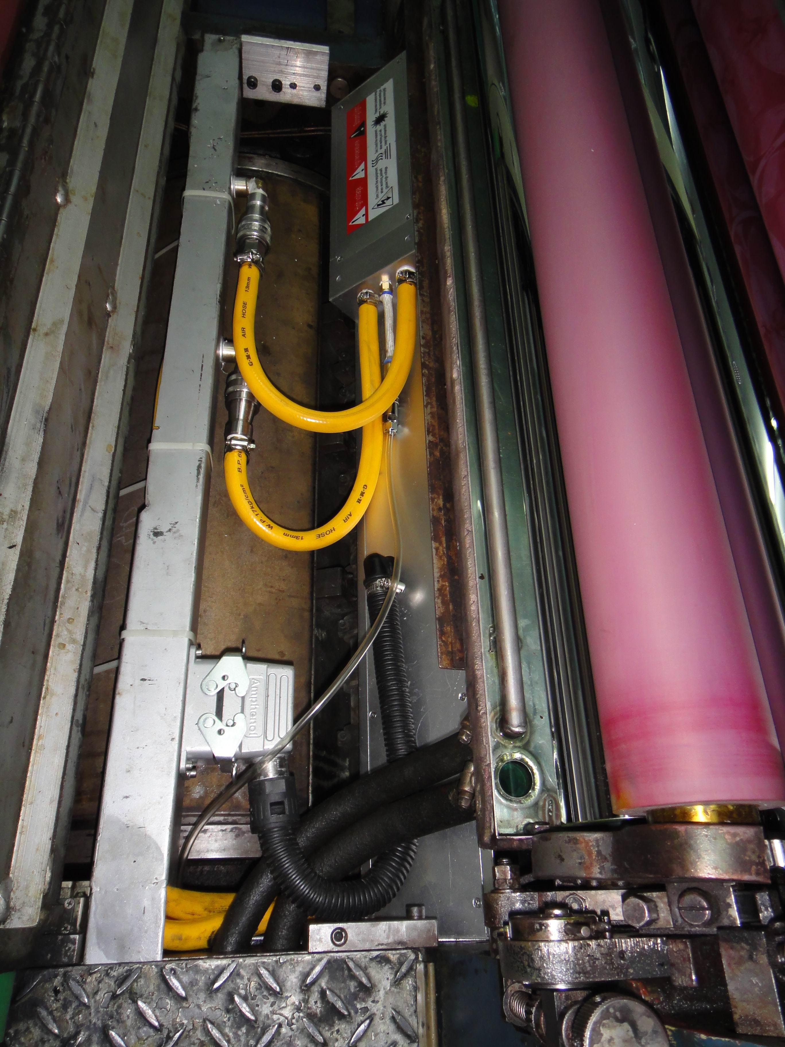 小森L26胶印机加装UV2