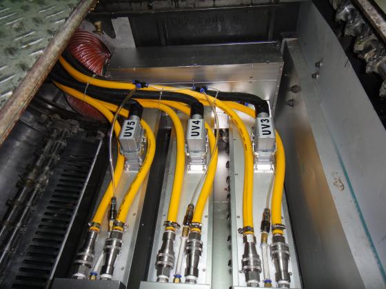 小森L26胶印机加装UV3