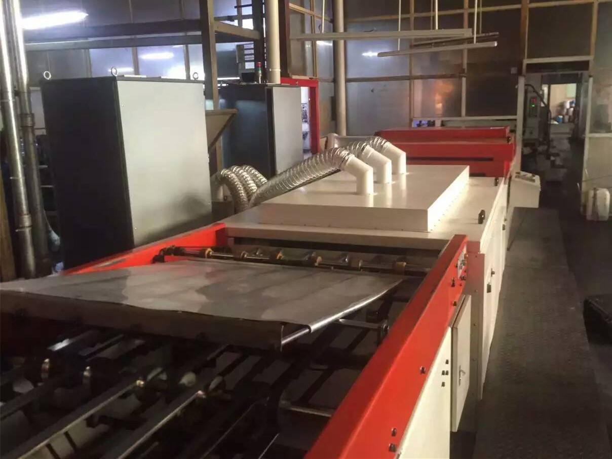 马口铁印刷机加装UV设备2