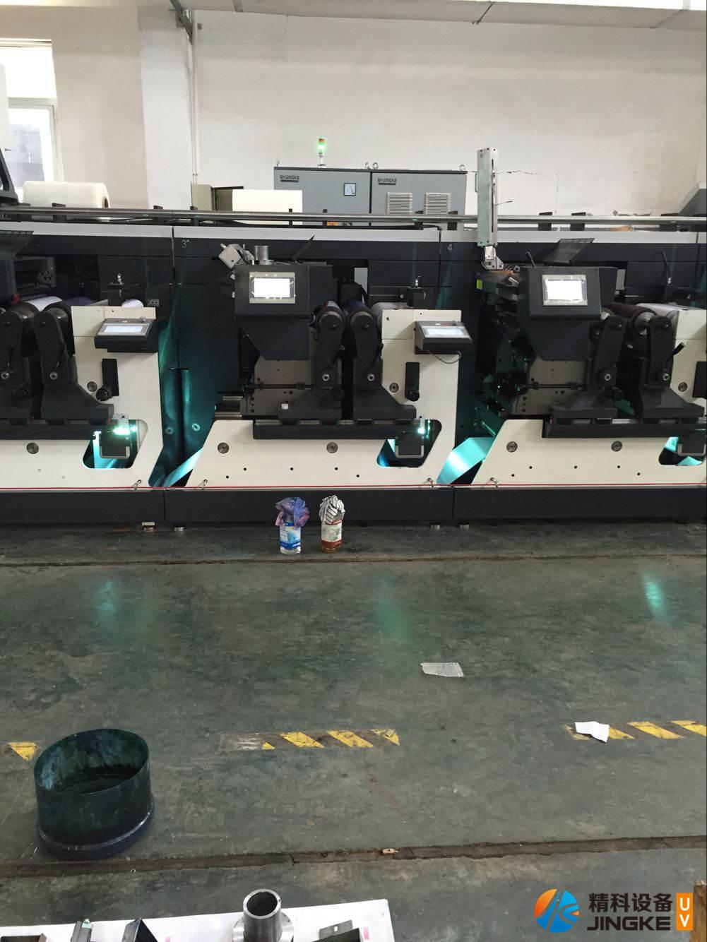 高速胶印标签印刷机加装UV2