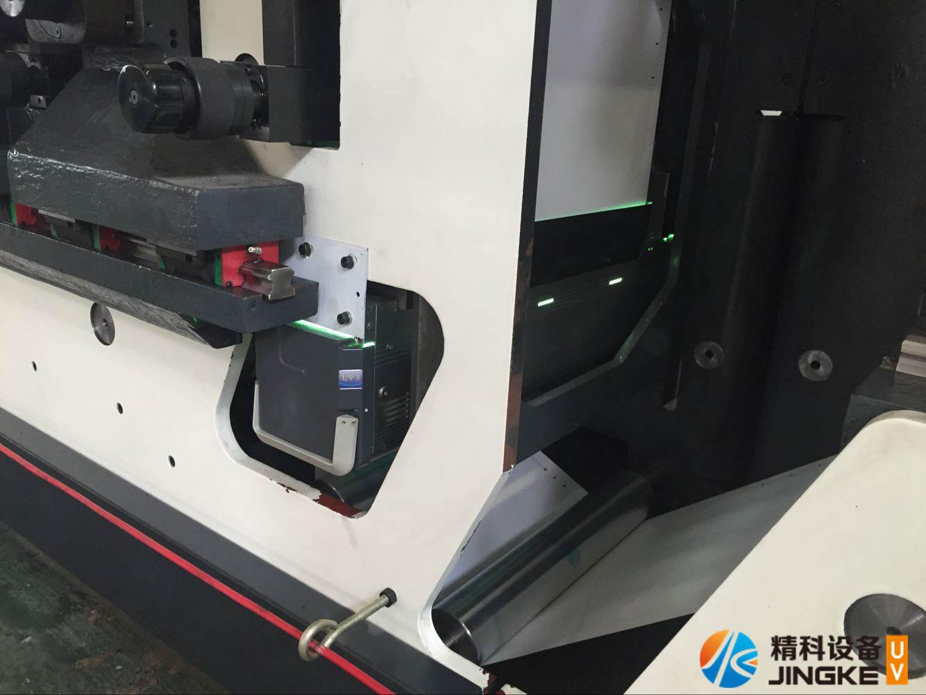 高速胶印标签印刷机加装UV4