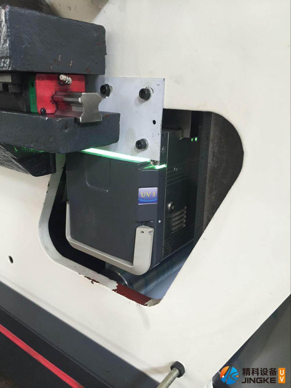 高速胶印标签印刷机加装UV5