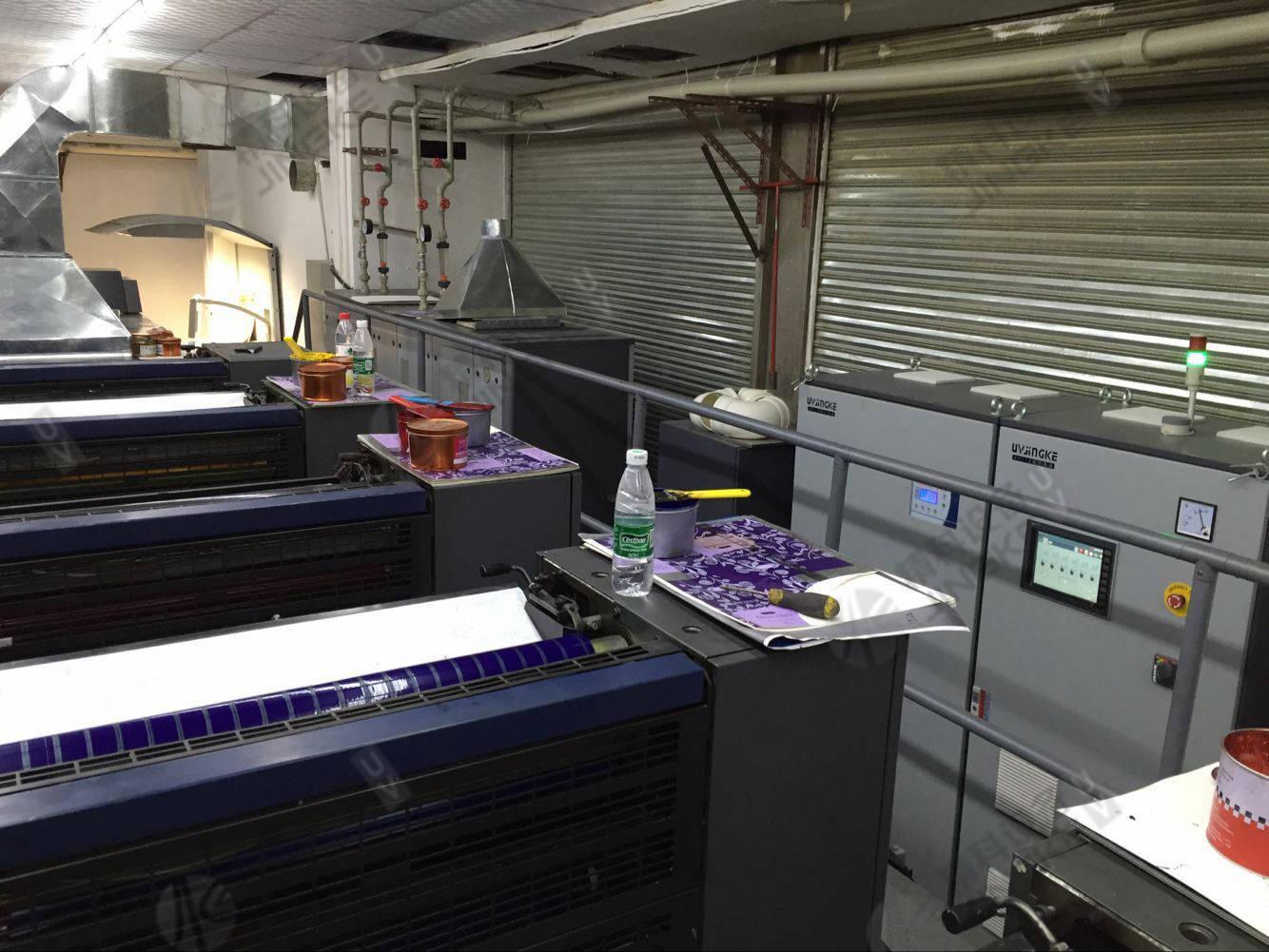 海德堡CD740胶印机加装UV4