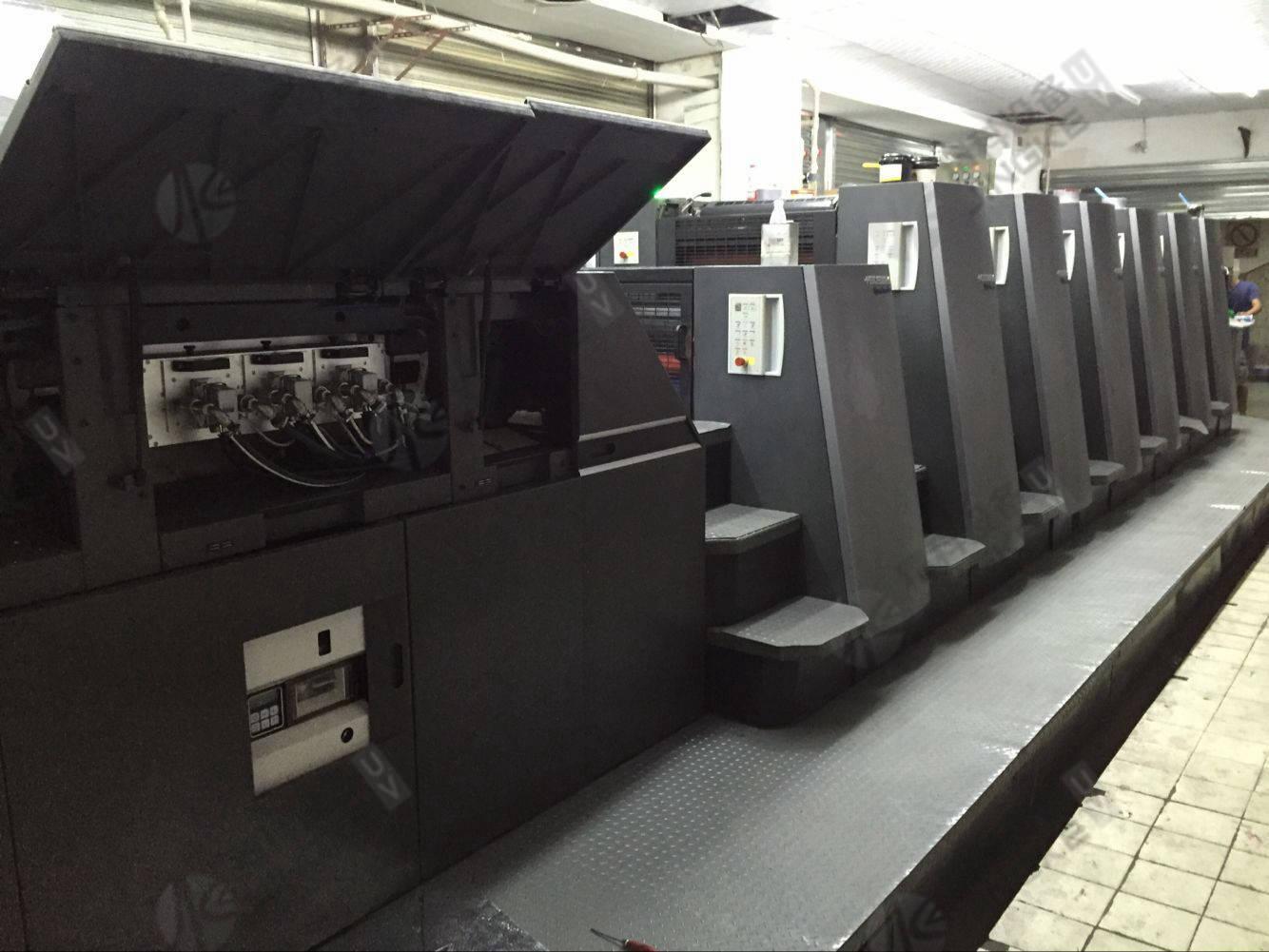 海德堡CD740胶印机加装UV1