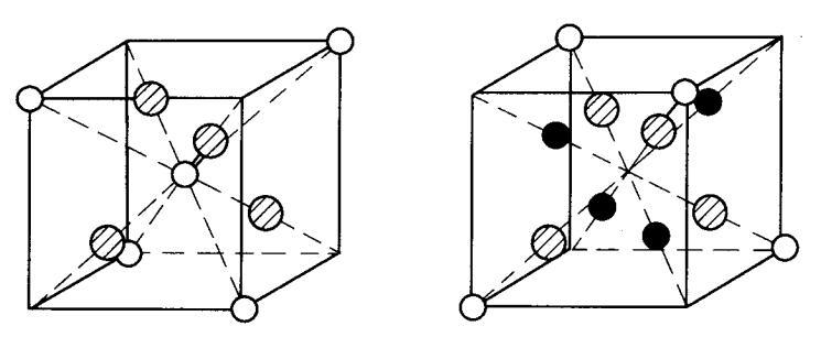 MgAl2O4晶体结构中的小单元